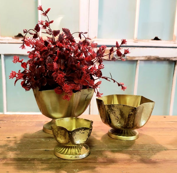 Antique Gold Bowls