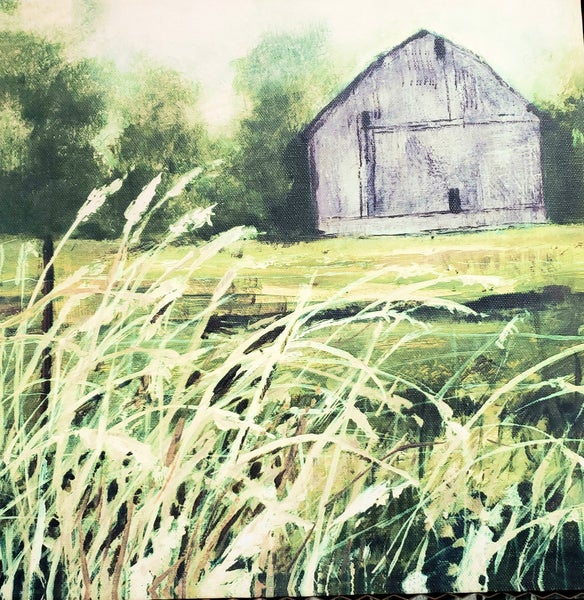 Serenity Barn Canvas