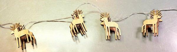 Reindeer String Lights