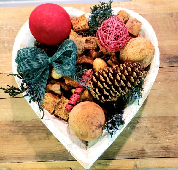 Christmas Spice Scented Bowl Filler