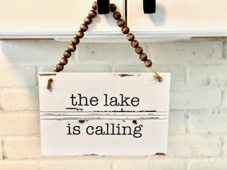 Water Calling Signs