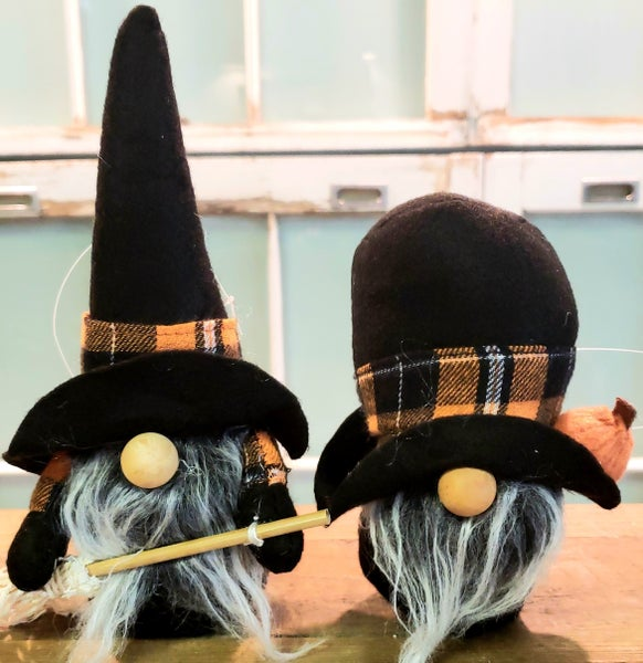 Mini Halloween Gnome