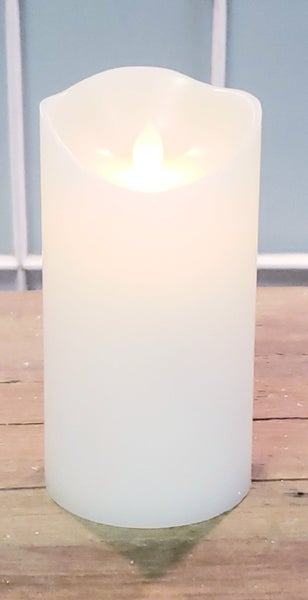 Candy Scented Large White LED Candle