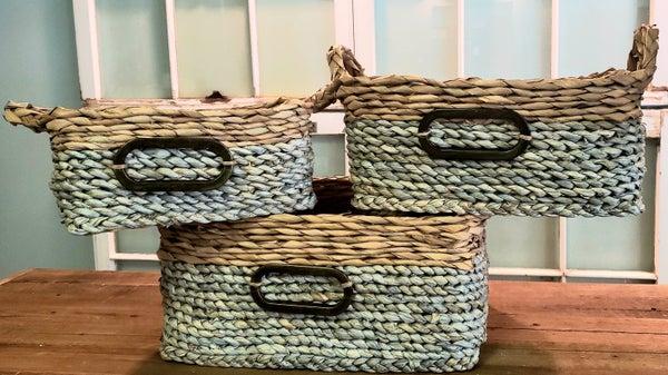 Rectangle Basket w/ Handle