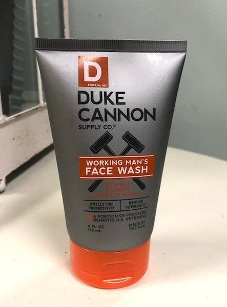 Duke Cannon Face Wash