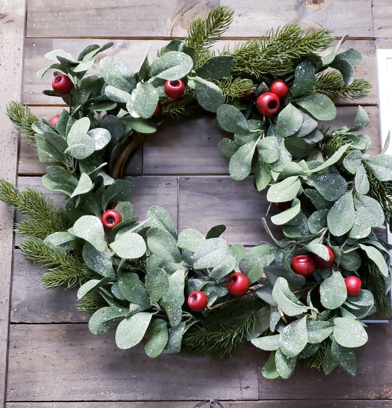 Red Welsh Wreath