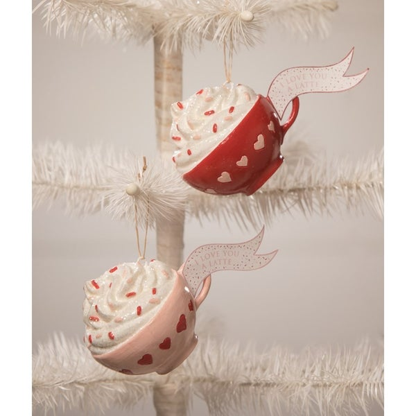 I Love You Latte Ornament