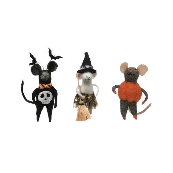 Halloween Felt Mice
