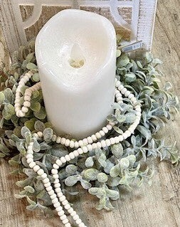 White Flicker Candle