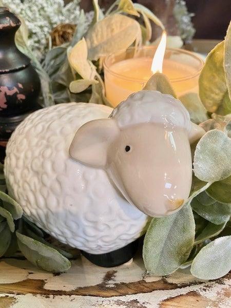 Ceramic Lamb