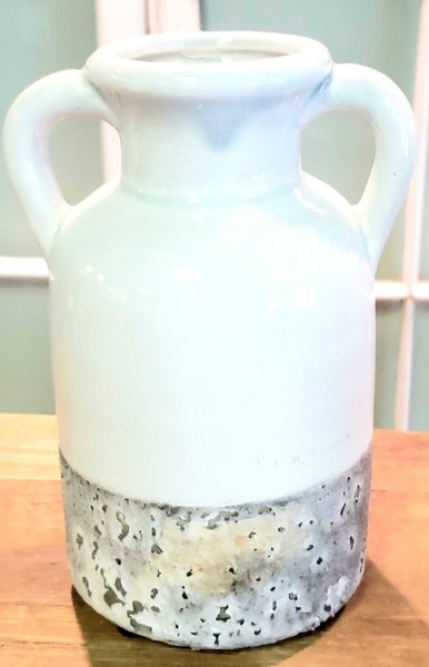 Double Handled Earthware Jug