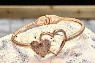 Front Close Heart Bracelet