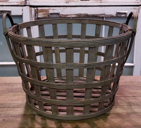 Round Tobacco Baskets
