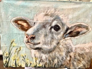 Sheep Dishtowel
