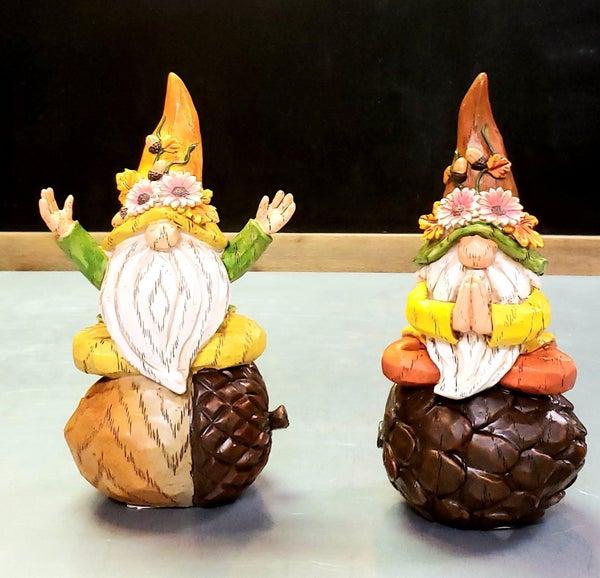 Autumn Yoga Gnomes