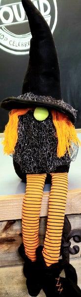 Large Witch Gnome w/ Orange Legs