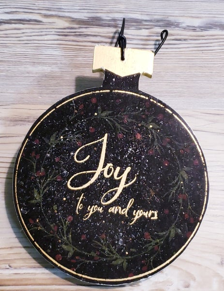 Joy to You Ornament