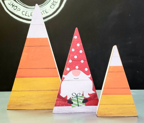 Reversible Candy Corn/Gnome