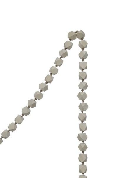Natural Wooden Diamond Beaded Garland
