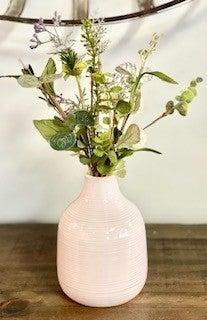 Modern Vase w/ Rings