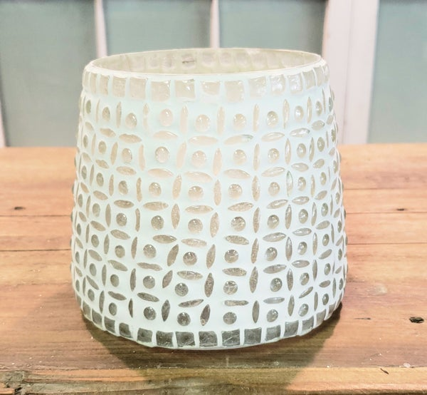 Large White Votive