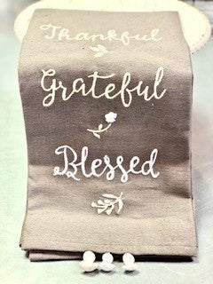 Thankful Dishtowel