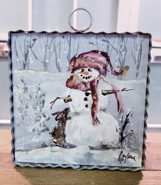 Snowman w/ Scarf Mini Gallery