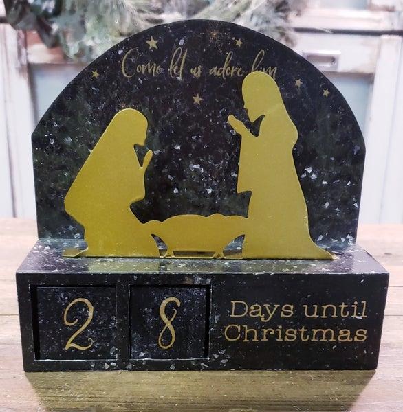Nativity Block Countdown