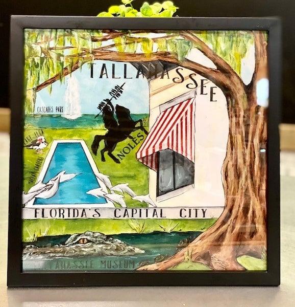 Tallahassee Painting Print