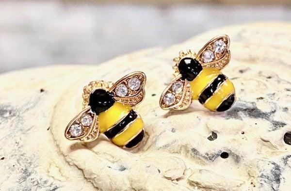 Bumblebee Earrings