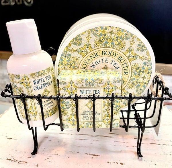 Basket/Lotion/Soap Set