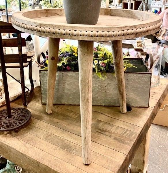 Beaded Tray Tables