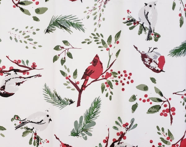 Birds & Berries Table Runner