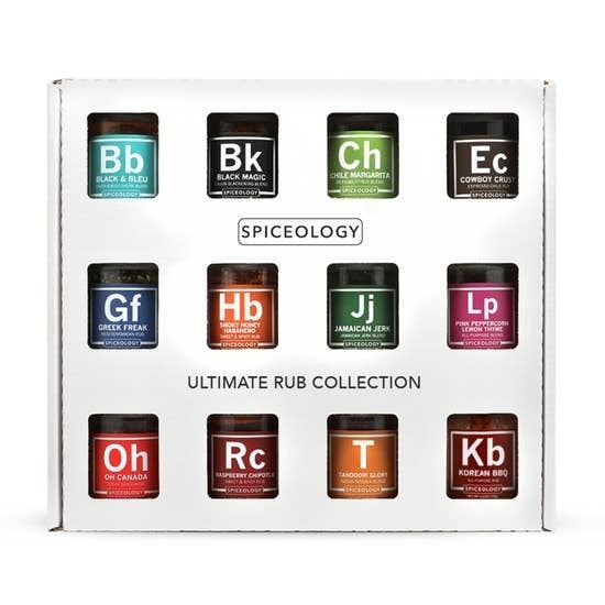 RESTOCK!! Spiceology Ultimate Rub Collection