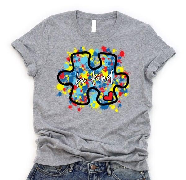 Autism Puzzle Be Kind