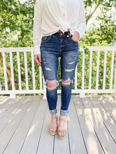 C'est Toi Bringing Sexy Back Skinny Jeans