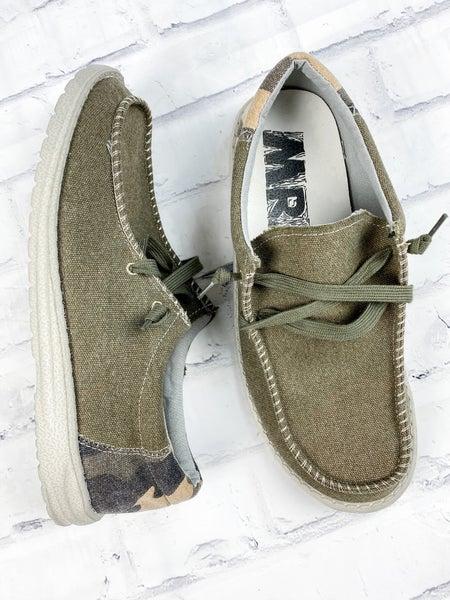 Men's Khaki Hey Matty Sneakers