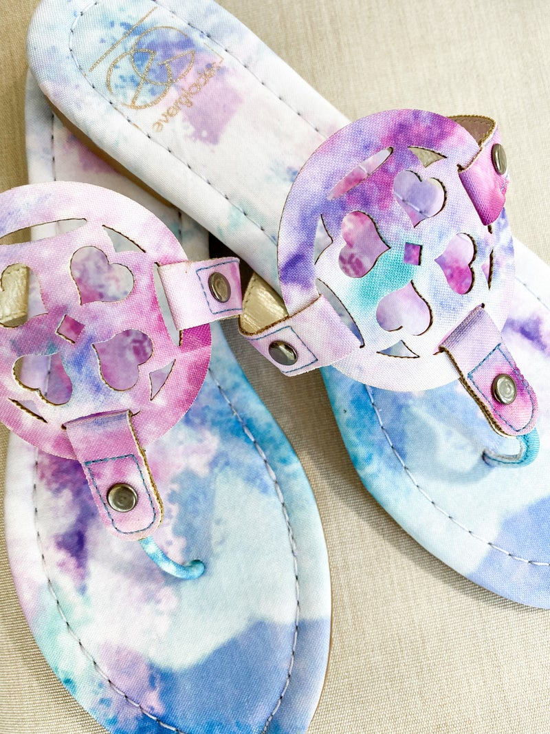 NEW COLOR! Handmade Colorful Sandals (Multiple Colors)