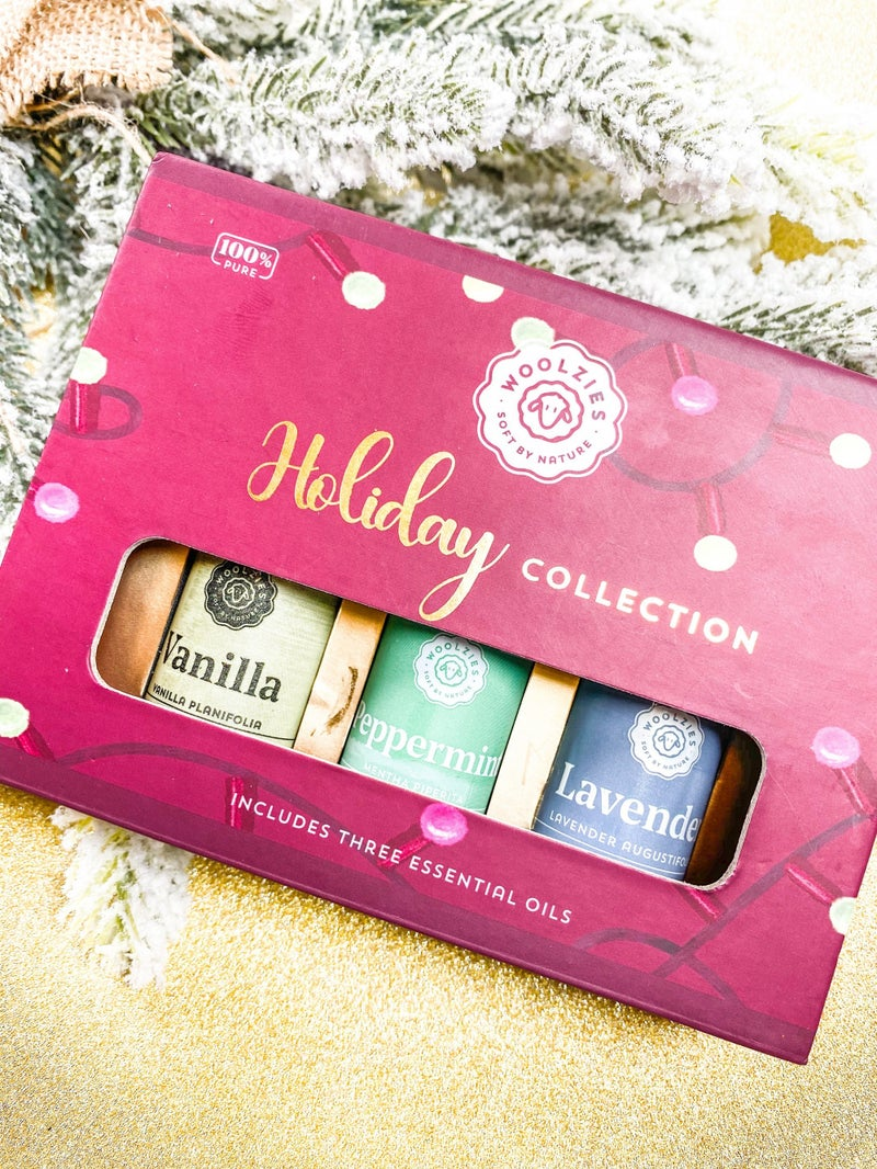 The Red Light Holiday Essential Oil Collection