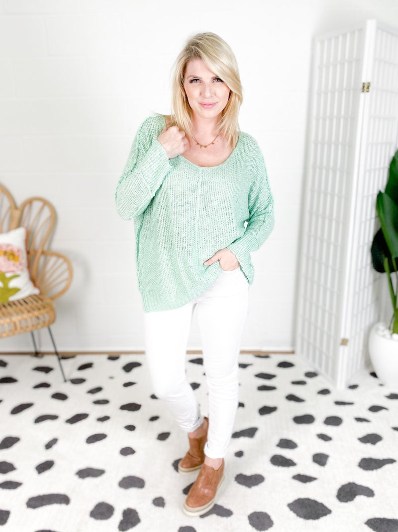 BEST TOP EVER!! FP STAPLE! Luxe Sweater Top (Multiple Colors)