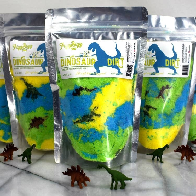Kids Bath Salts With Small Toy (Multiple Options)