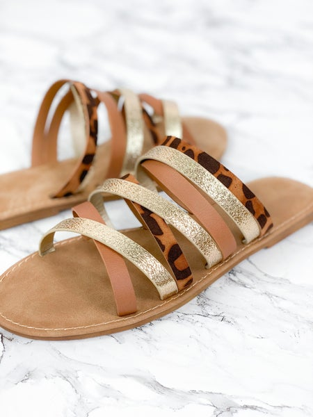 Sunny Feet Leopard Sandal