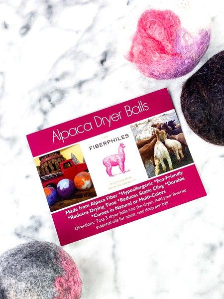 Alpaca Dryer Balls Set Of 3