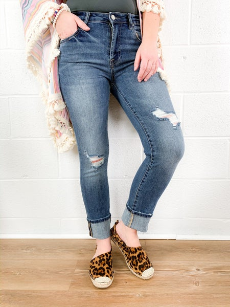 C'est Toi Straight to the Point Jeans