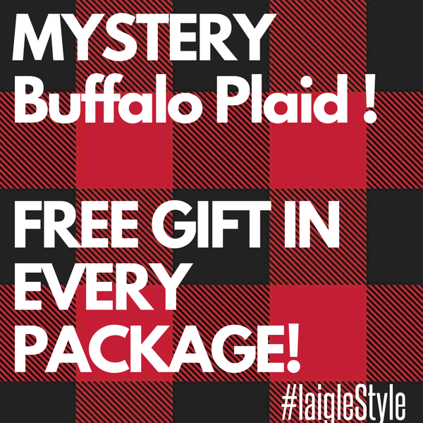 MYSTERY BUFFALO PLAID !!! FREE GIFT IN EVERY PURCHASE!