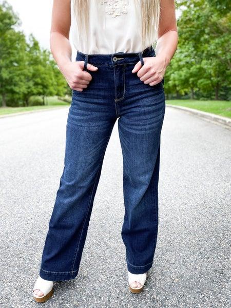 KanCan Trouser Wide Leg Jeans