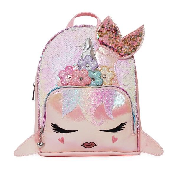 Sugar Glitter Flower Sequin Backpack