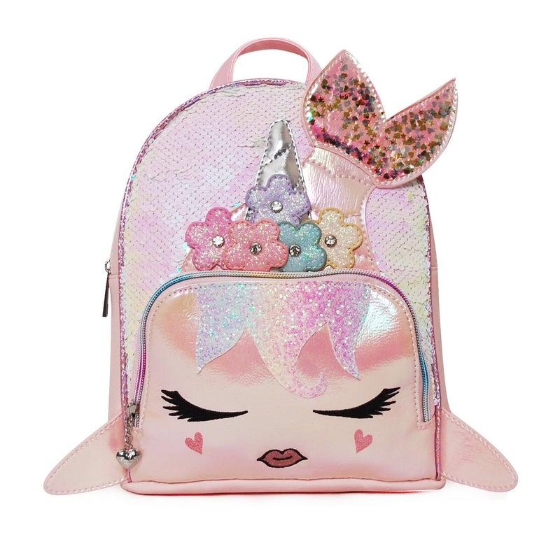 Sugar Glitter Flower Sequin Backpack