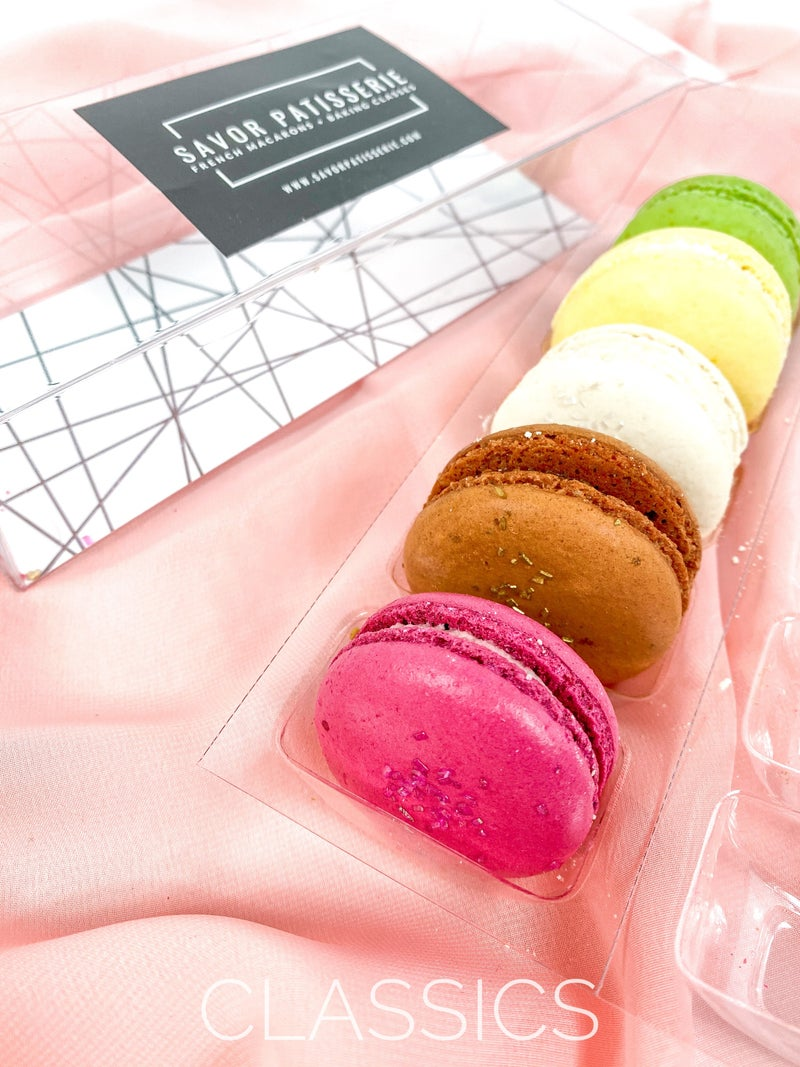 Assorted Macaron Box Of Five (Multiple Options)