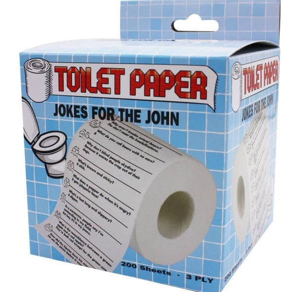 Jokes For the John Toilet Paper